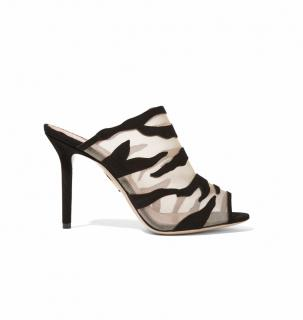 Charlotte Olympia Osa Suede & Mesh Size 40