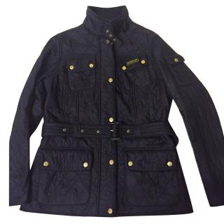 Barbour ladies black quilted jacket