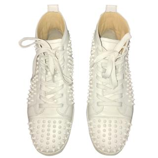 Christian Louboutin Men's Louis Spikes Flat