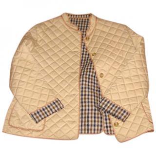 Aquascutum quilted jacket