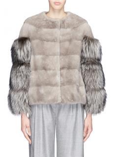 Yves Salomon Racoon/Mink Fur