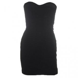 Sass & Bide Strapless Panelled Mini Dress