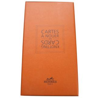 Hermes knotting cards