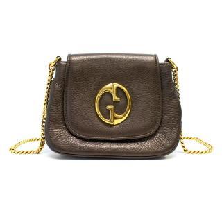 Gucci Brown 1973 Cross-Body Bag
