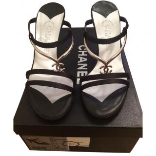 Chanel mules shoes size 36
