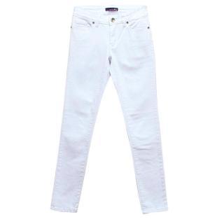 La Martina White Skinny Jeans
