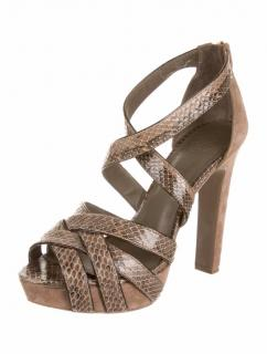 Tory Burch Snakekin Sandals
