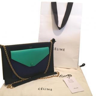 Celine Pocket Envelope in PALM Leather
