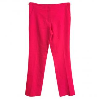 Christopher Kane Neon Pink Trousers