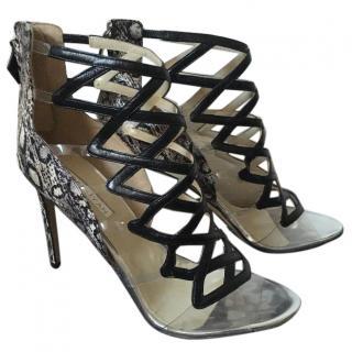 Burakuyan Snakeskin Heels
