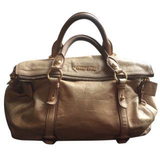 Miu Miu Vitello leather Bow Bag