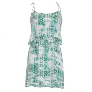 Parker Silk Printed Mini Dress