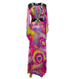 Matthew Williamson Multicoloured Tropical Print Kaftan