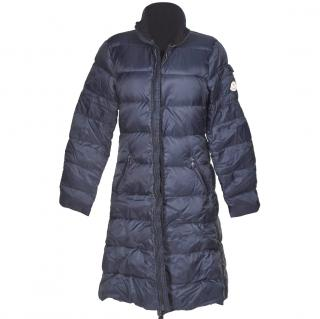 Moncler navy coat