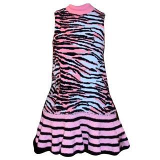 KENZO x H&M Pink Tiger Print Sleeveless Dress