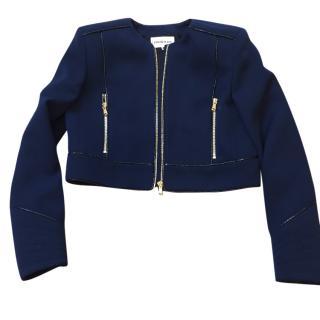 Emilio Pucci Python trim Jacket
