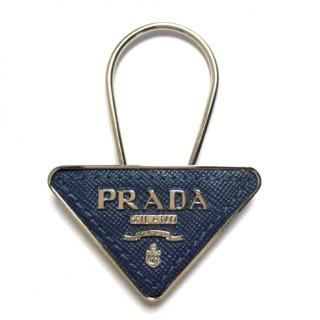 Prada Saffiano Leather Keyring