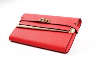 NEW Hermes Kelly wallet Rose Jaipur with receipt