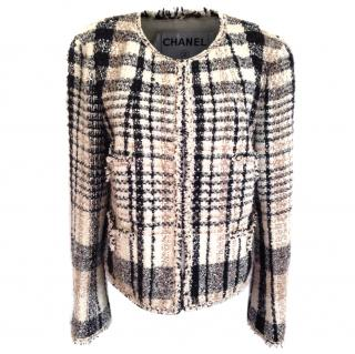 Chanel short tweed blazer