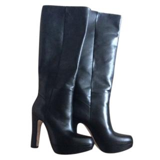 Russell and Bromley Black Leather Boots