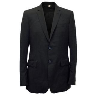 Burberry Men's Black Blazer