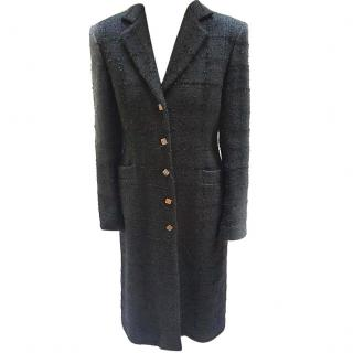 Versace Black Tailored Wool Jacket VGC