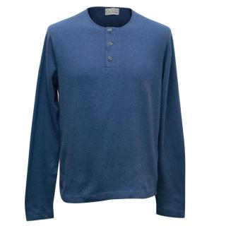 Clements Ribeiro Men's Blue Jumper