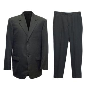 Verri Men's Dark Grey Suit