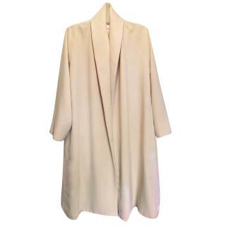 MaxMara Beige drape trench coat