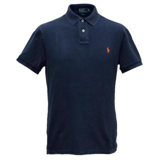 Polo By Ralph Lauren Men's Navy Polo Shirt