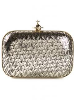 Vivienne Westwood gold Grace clutch