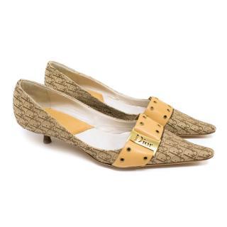 Dior Pointed Toe kitten Heel