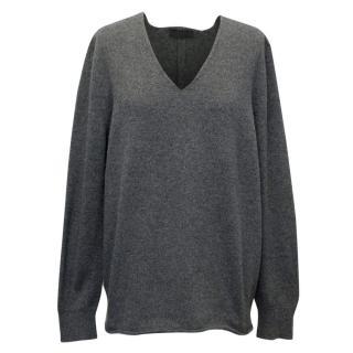 The Row Grey Knit Jumper