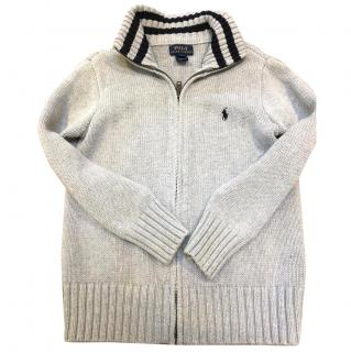 Polo Ralph Lauren boys full-zip sweater