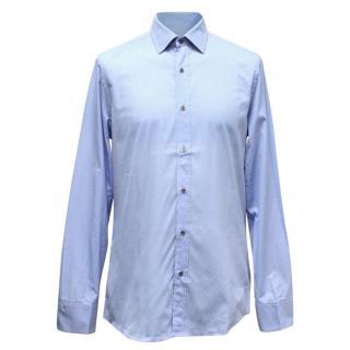 Gucci Men's Light Blue Shirt