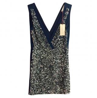 Stella McCartney silk sequin dress