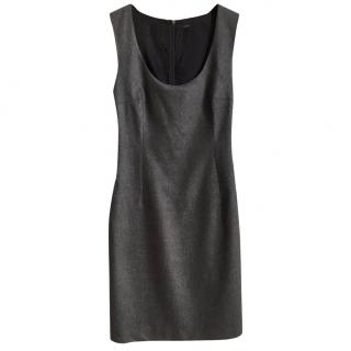 Joseph wool midi dress in grey