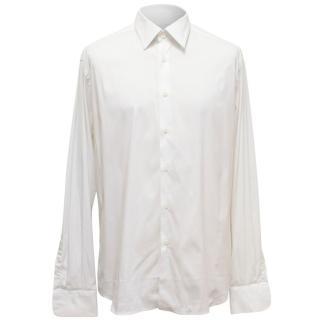 Prada Men's White Button Up Shirt
