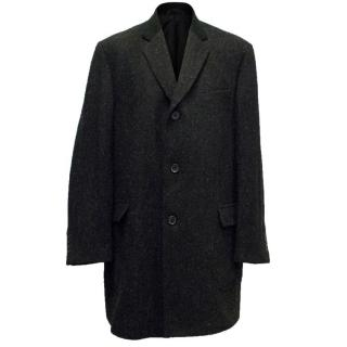 Margaret Howell Dark Wool Overcoat