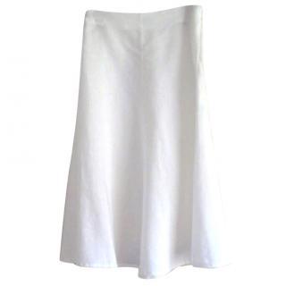 Brora linen skirt, UK 8