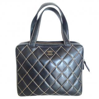Chanel Black Quilted Handbag