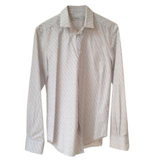 Pringle Of Scotland Long-sleeved Cotton Shirt