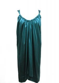 Graham and Spencer Teal Silk Dress