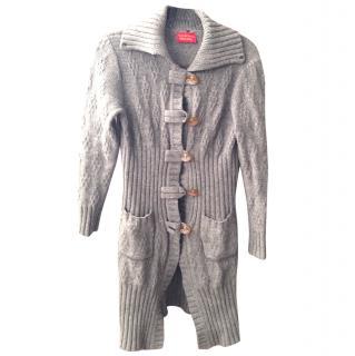 Vivienne Westwood grey cardigan