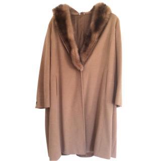 Marina Rinaldi Camel coat
