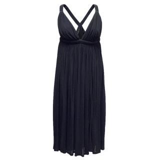 Amanda Wakeley Navy Dress