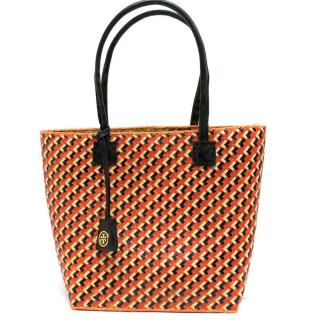 Tory Burch Wicker Woven Basket