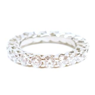 Bespoke White Gold Diamond Eternity Ring