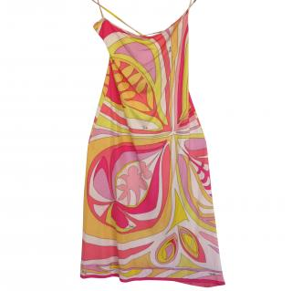 Emilio Pucci 100% silk dress It 40
