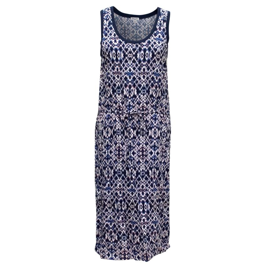 Splendid Printed Mid-Length Dress